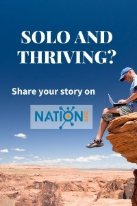 Blog Contribute Solo and thriving