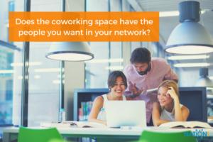 Freelancers at their cowork space