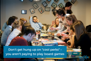 An example of how cool perks can turn into major distractions for coworkers