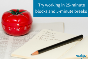 Use the pomodoro technique to optimize your time management in the next year!