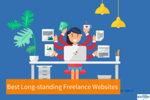 Freelancer searching the best freelance websites for new gigs