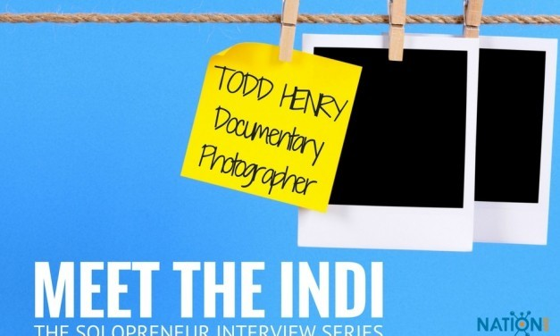"""A Freelance Documentary Photographer Talks """"Getting Out There"""""""