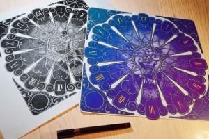 """Lion Clocks"" Illustrations by Dejvid Knezevik"