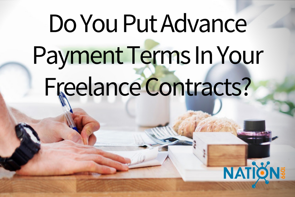 upfront payment, advance payment