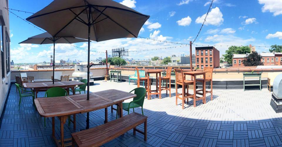 Brooklyn Coworking Space with new roofdeck