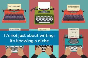freelancers working on typewriters