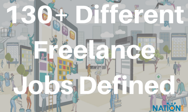 How Many Different Freelance Careers Do You Know Of? We've Found Over 130 So Far