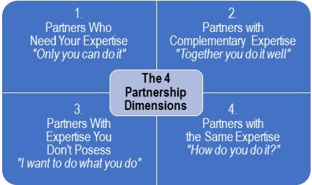 The 4 Partnership Consulting Dimensions, Dora Daniel