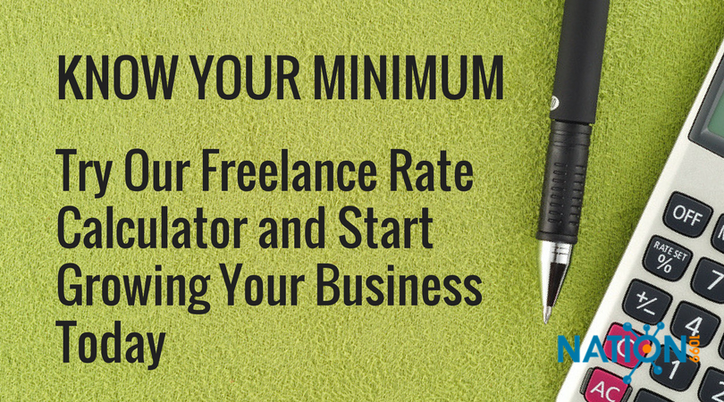 freelance rate calculator know your expenses to know your minimum